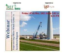 Webinar on 'Repowering Older Wind Farms in Southern Region'